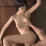 High-quality realistic 3d girls fucked in bootie
