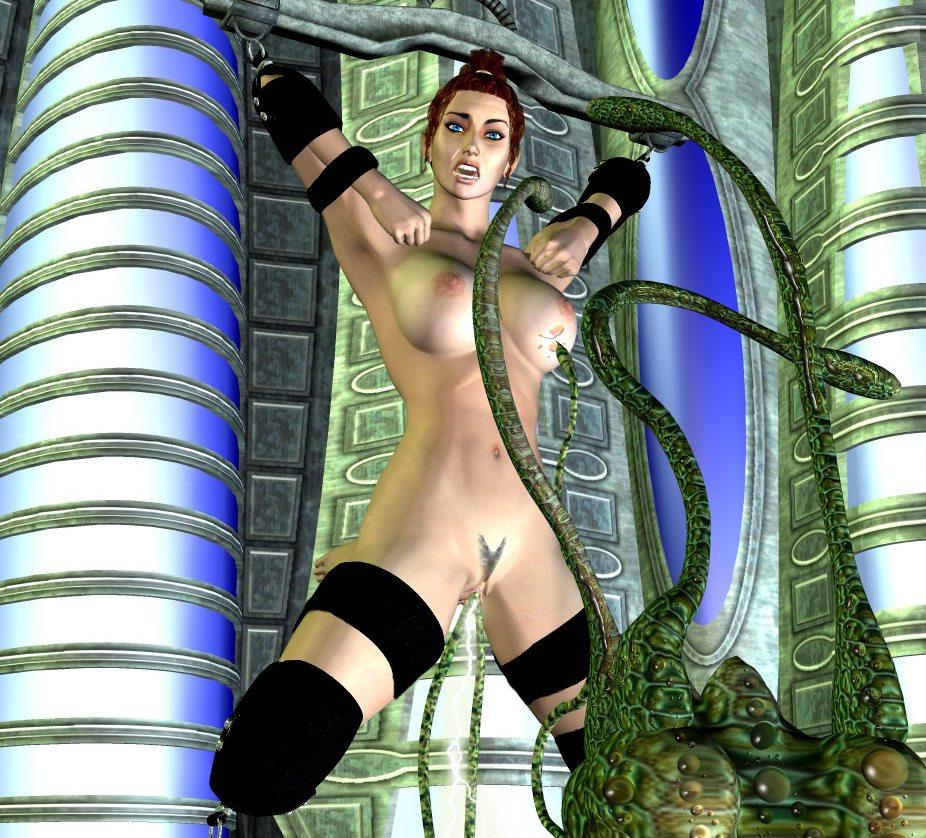 Monster tentacle sex interactive 3d