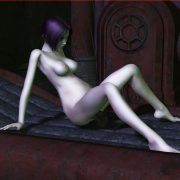 Adult 3d XXX - Human gives birth to a monster
