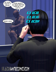 Busty detective adult comics