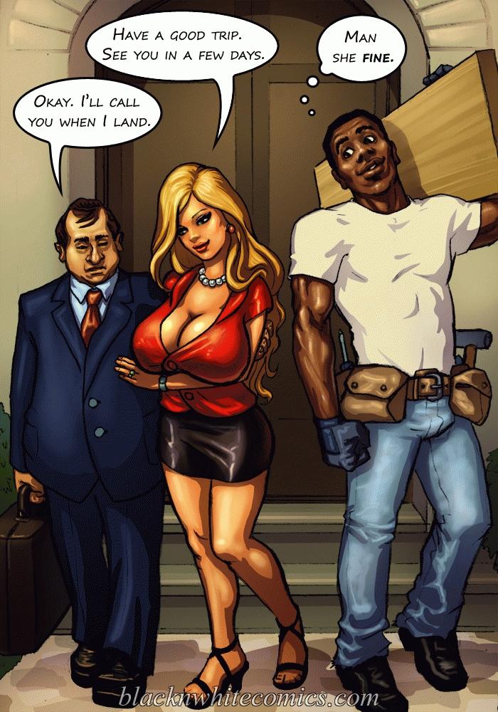 Black Cartoon Sex Comics Stud Tries This Juicy Busty Slut