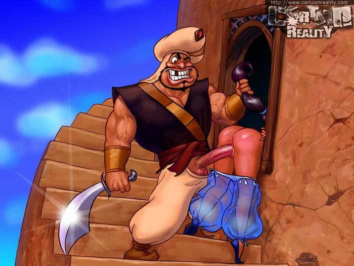 Jasmine sex and aladdin having