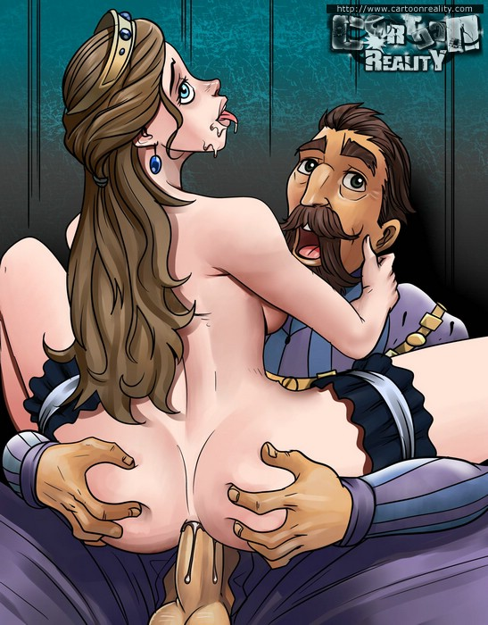 Cartoon blowjob porn