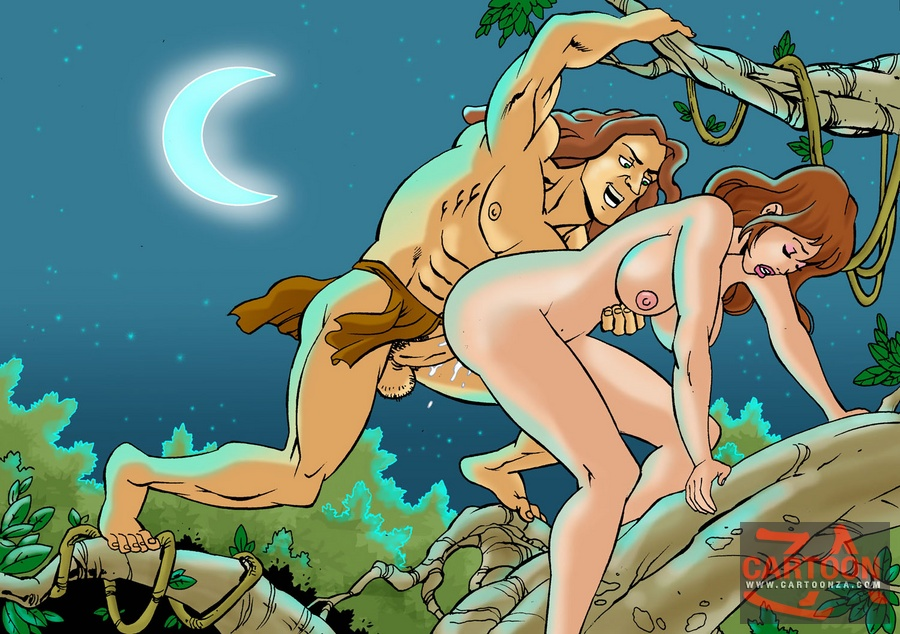 In Film Tarzan Fucking Her Girl Photo
