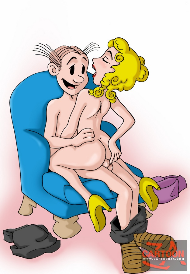 Blondie and dagwood sex toons