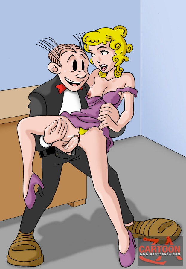 Blondie and dagwood hentai