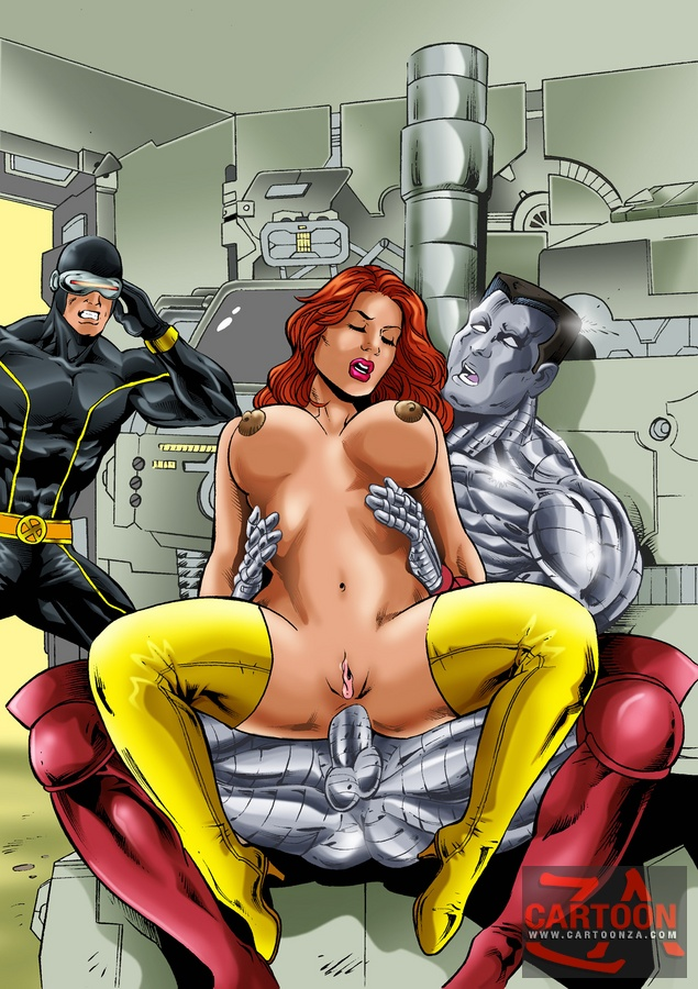 avengers Nude boob