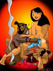 Mulan loves it  - Cartoon Sex