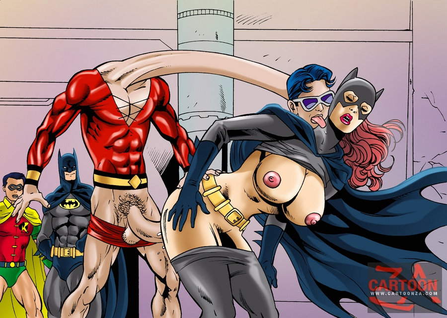 Robin And Batgirl Sex Comics - Batgirl Fucks At Cartoon Porn