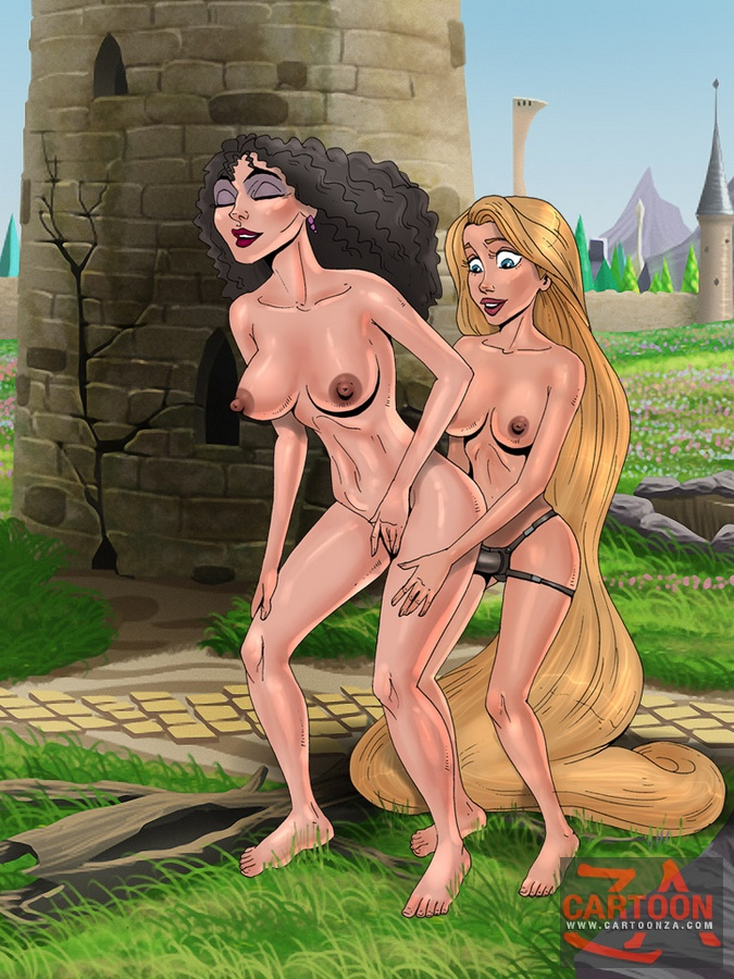nude cartoon Tangled