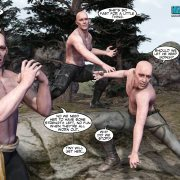 Fantastic sex story in comics