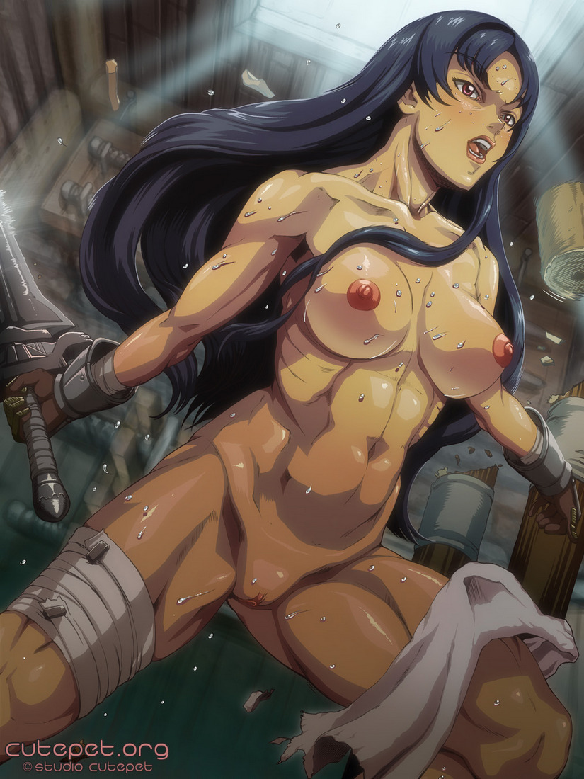 porn girl Hentai warrior cartoon