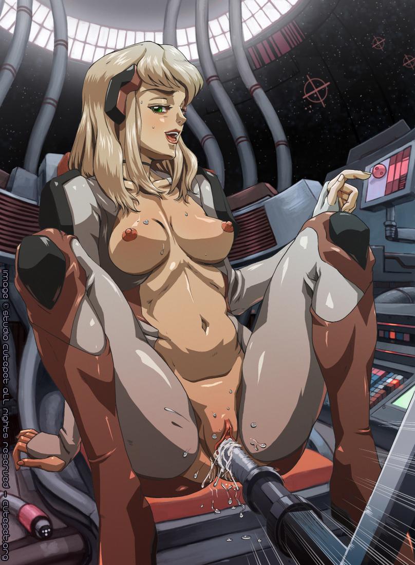 Fucking machine hentai