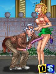 naughty porn cartoon sex pics