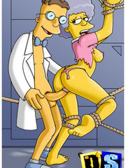 Dirty sex cartoon Simpsons