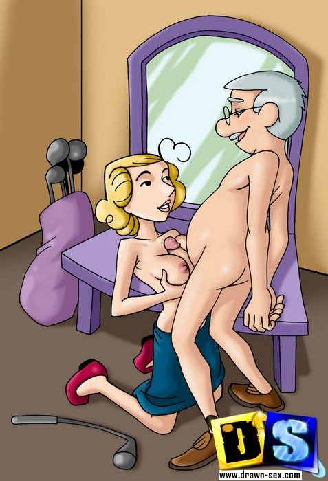 Crazy toon porn