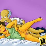 Simpsons hardcore games - mature porn