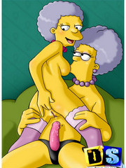 The Simpson in kinky sex games