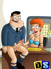 American Dad free cartoon porn pics
