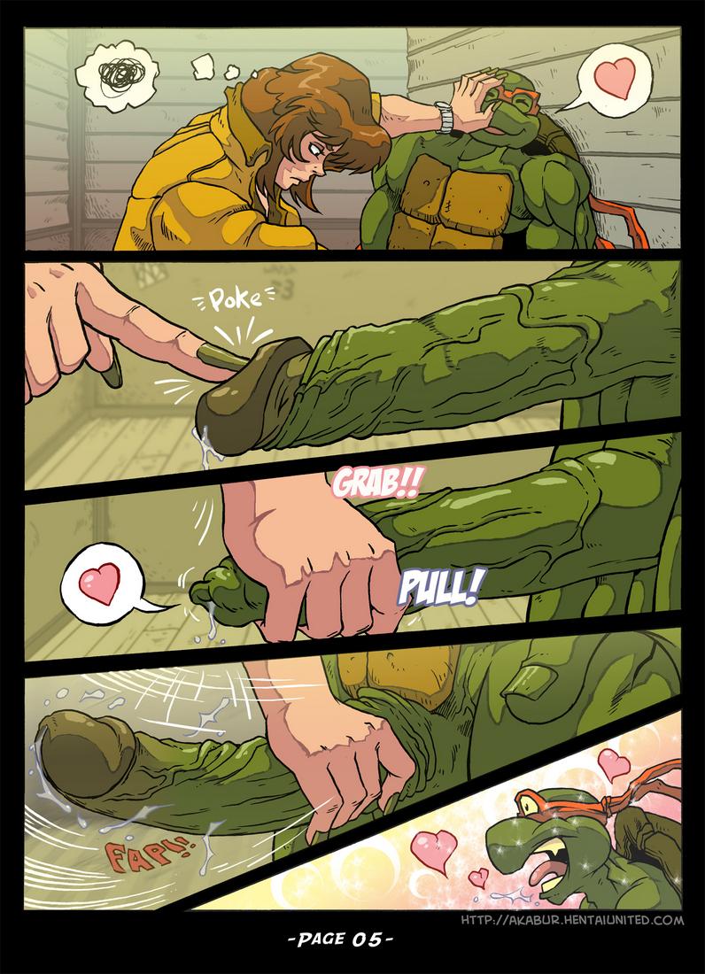 comics Tmnt porn