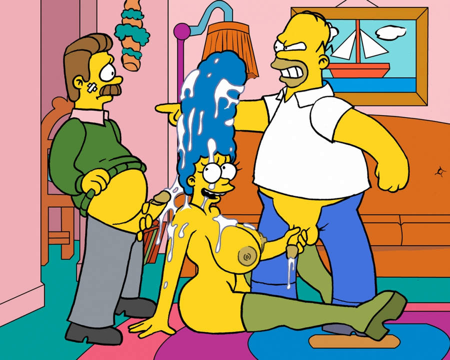 Simpson cartoon sex