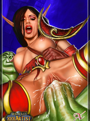 Hentai World of Warcraft porn