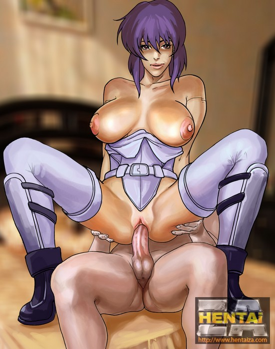 Ghost in the shell hentai porn