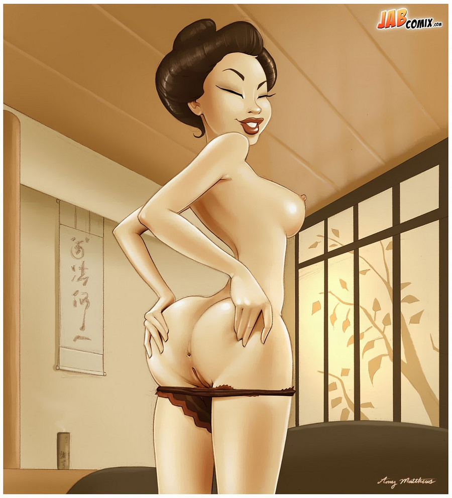 Cartoons image of hot ass women's hd  sexual pic