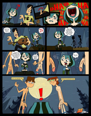 Total Drama adult comics