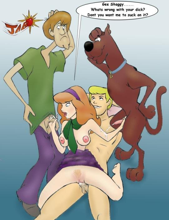 Daphne of scooby doo from cartoon sex xxx