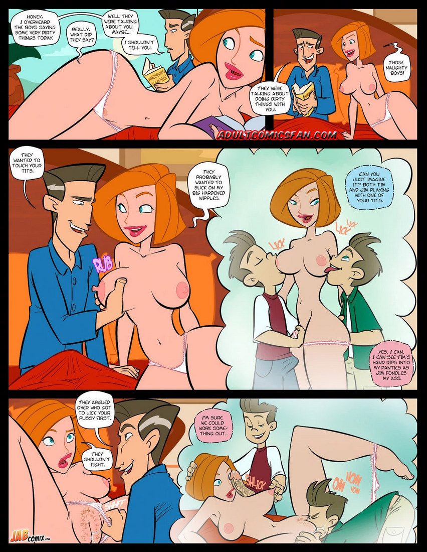 Kim possible sex with mom