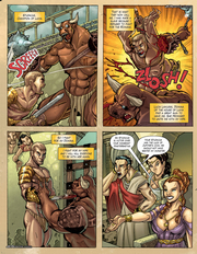 Ancient Rome fantasy porn comics