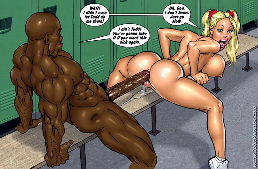 Big black cocks comics porn