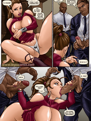 Beauty fucked wild in sex comics