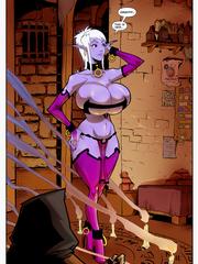 Adult fantasy sex comix