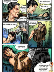 Busty superhero wannabe gets roughly pounded up