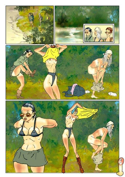 Nackt comic
