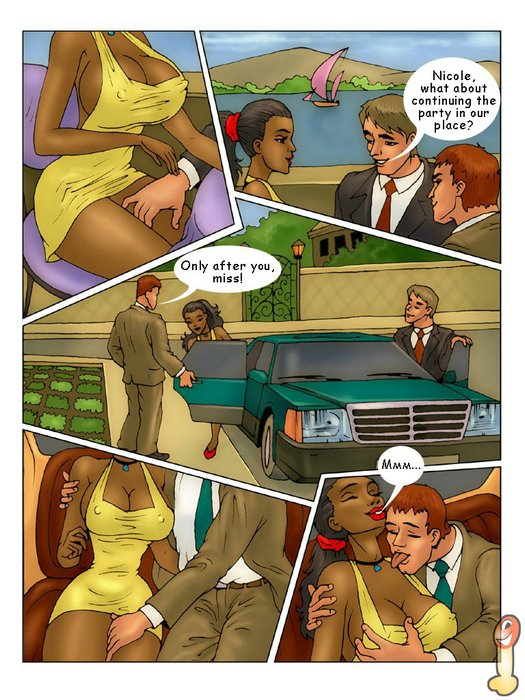 Cartoon porn comics nicole heat think