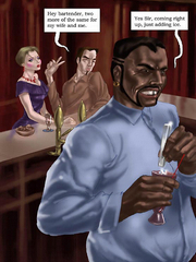 Different outstanding interracial gangbang actions