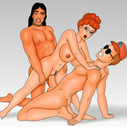Grupo de dibujos animados porno sex pics