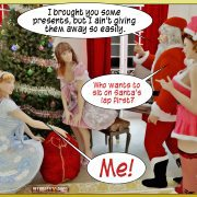 Crazy X-mas home orgies