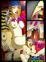 La magie sexuelle lesbienne égyptienne dans la bande dessinée adulte