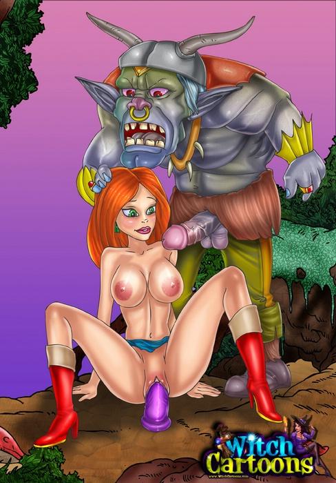 witch в порно