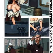 Pretty maid serves her master;s cock - hot adult comics