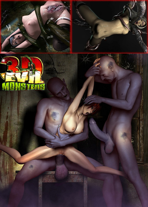 3d evil monsters