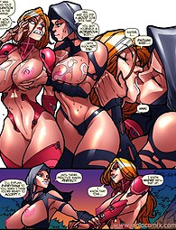 Tasty adult comics with hot babes and severe monsters.
