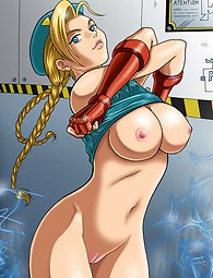 Street Fighter sexy hentai porn
