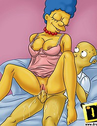 Dads from Springfield getting pussy. Old guys from The Simpsons can still fuck bitches right