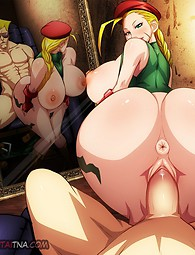 Street Fighter - hardcore anime sex